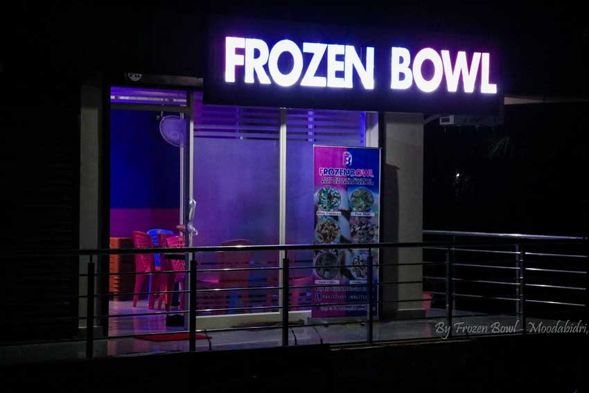 Frozen Bowl – Roll Ice Cream – Moodabidri