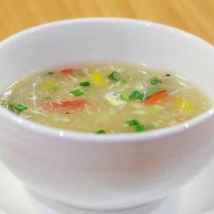 Okaya Soup - Thyme (Spindrift) - Family Restaurant - Bharath Mall, Mangalore