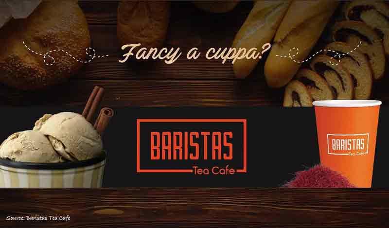 Baristas Tea Cafe – Bejai