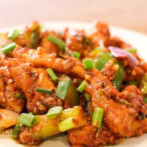 Dragon Chicken Basil Cafe Bejai Mangalore 300x300 - Basil Cafe - Bejai Kapikad
