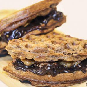 Twix Belgian Waffle Waffee House Cafe Waffle plus Coffee Bendoorwell Mangalore 300x300 - Waffee House - Cafe -Bendoorwell
