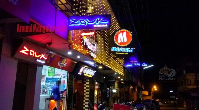Zouk - The Resto Bar - Valencia Jeepu, Mangalore