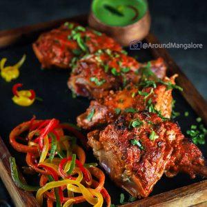 Tandoori Chicken - Sana-di-ge, Goldfinch Hotel, Mangalore