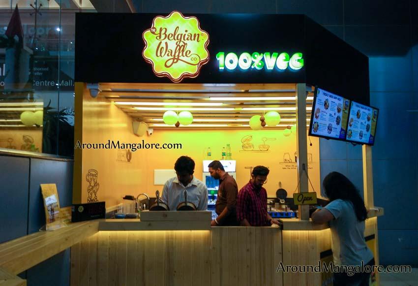 Belgian Waffle - City Centre Mall, Hampankatta, Mangalore