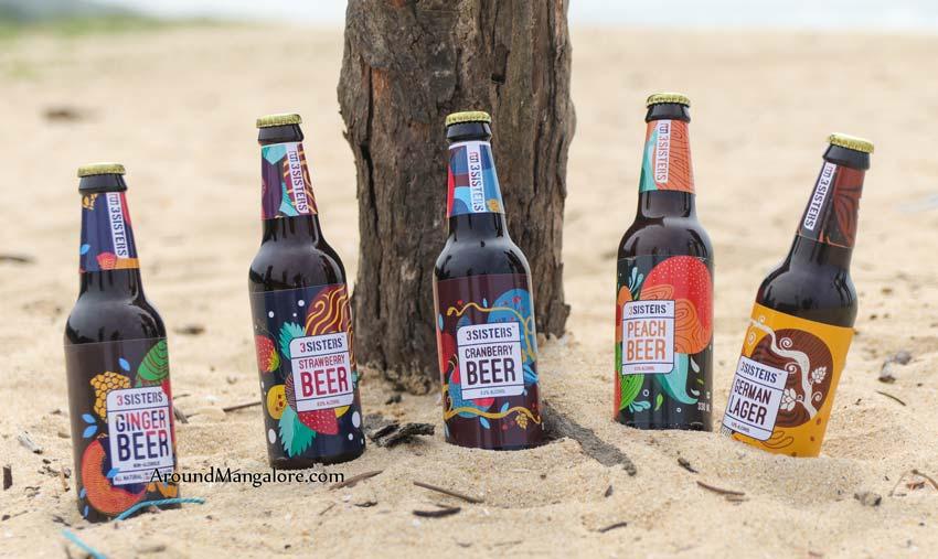 3 Sisters – Non Alcoholic Beer – J K Enterprises – Mangalore/Manipal