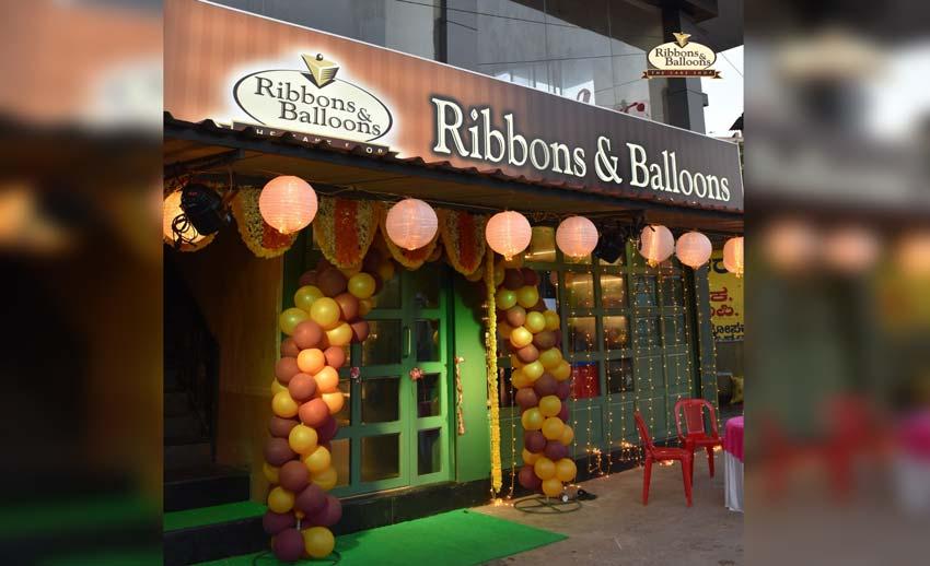 Ribbons and Balloons - Shirva - Cake Shop
