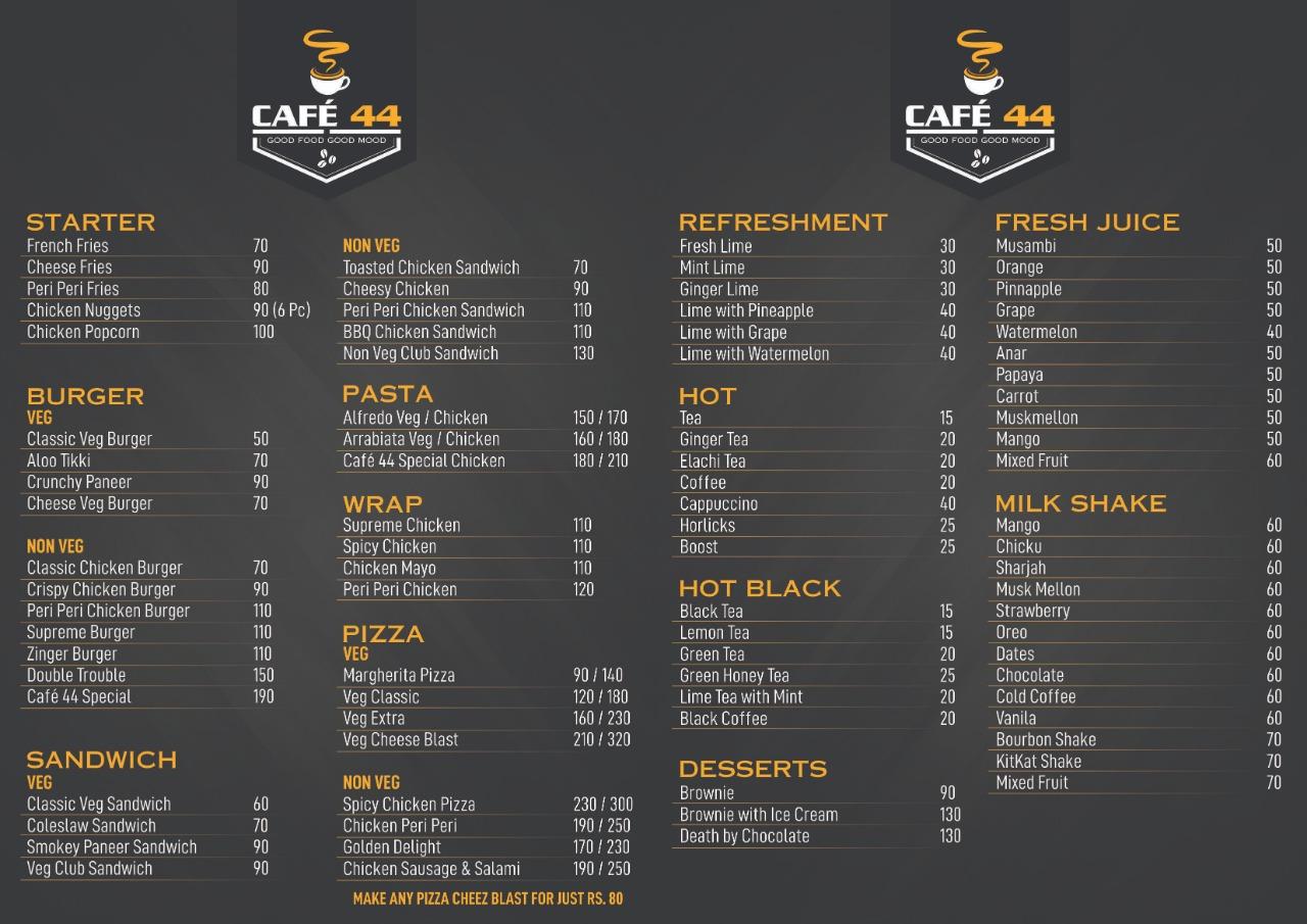 Cafe 44 – Valencia