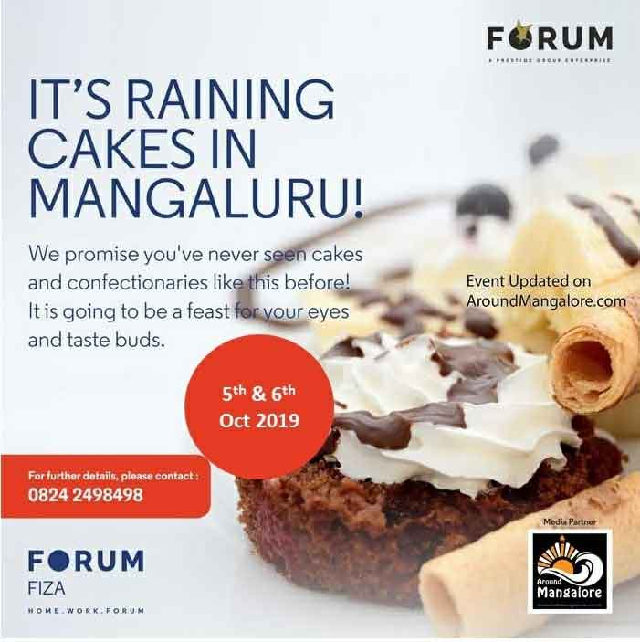 Forum Cake Fest - 5th & 6th Oct 2019 - The Forum Fiza Mall, Mangalore