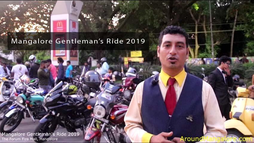 Mangalore Gentleman Ride 2019 - 29-Sep-2019 - The Forum Fiza Mall, Mangalore