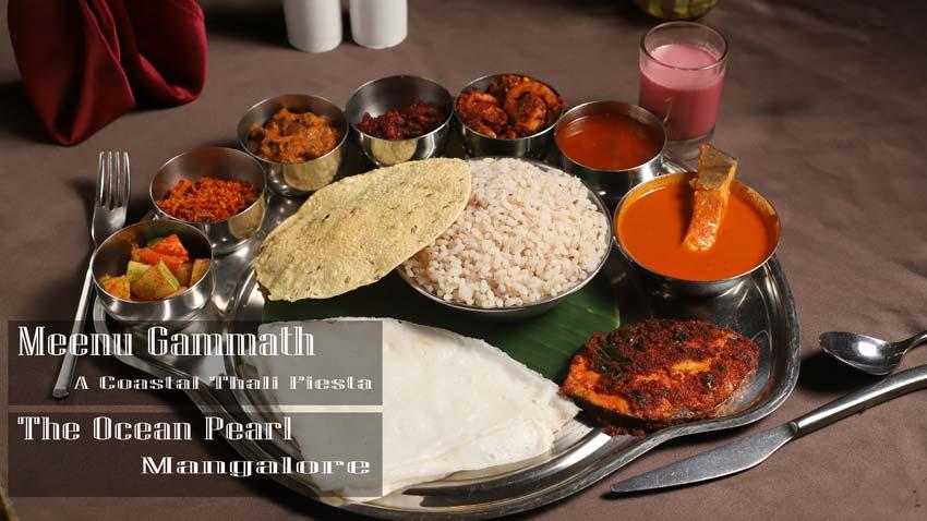 Meenu Gammath – A Coastal Thali Fiesta