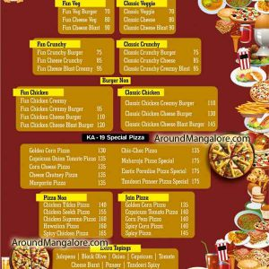 Food Menu KA19 Kudlada Cafe Hampankatta Mangalore P4 300x300 - KA19 Kudlada Cafe - Hampankatta
