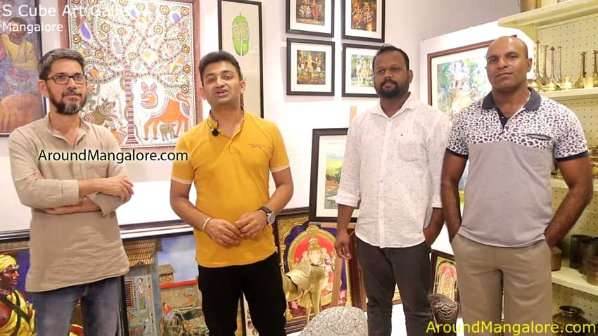 S Cube Art Gallery – Mannagudda / Carstreet, Mangalore