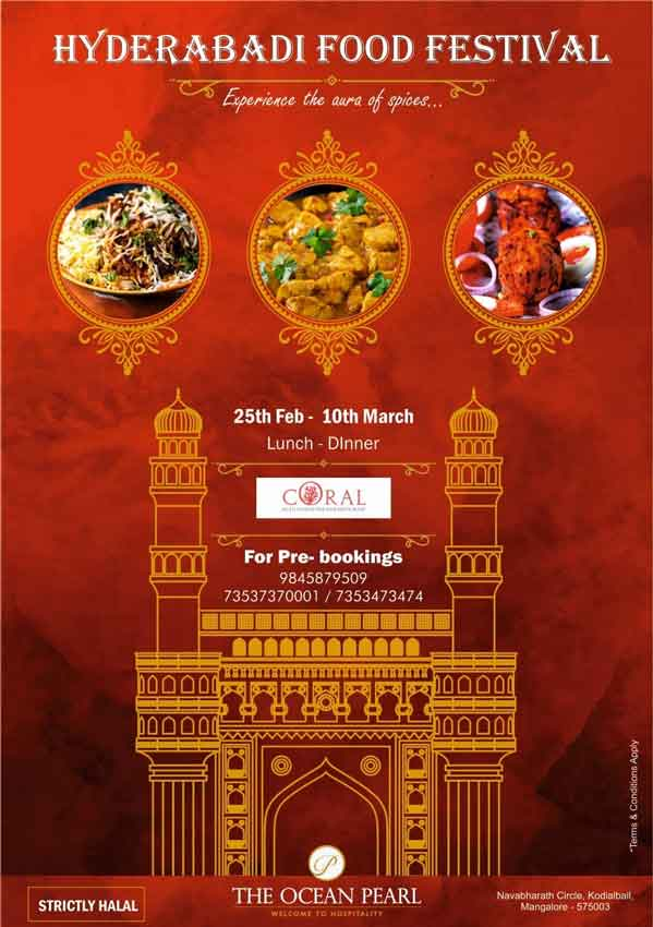 Hyderabadi Food Festival – 25 Feb to 10 Mar 2020