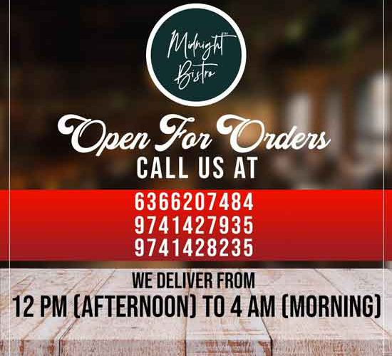 Midnight Bistro – Home Delivery – Mangalore