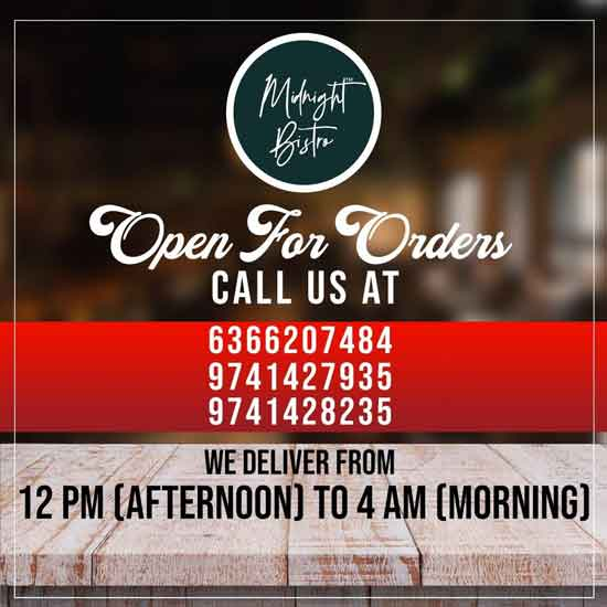 Midnight Bistro - Online Home Delivery - Mangalore