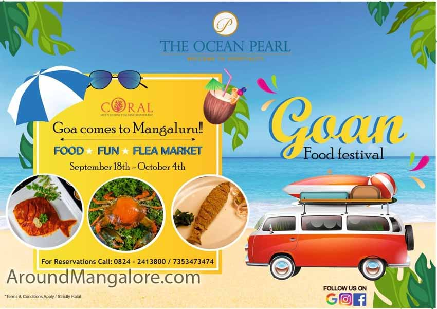 Goan Food Festival - 18 Sep to 4 Oct 2020 - The Ocean Pearl, Mangalore