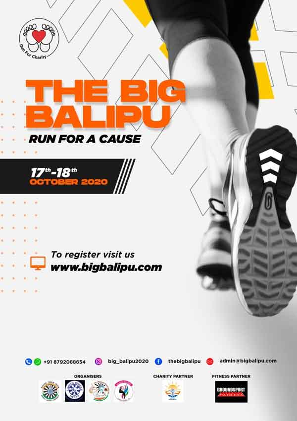 The Big Balipu - Run for a cause - 17 & 18th Oct 2020