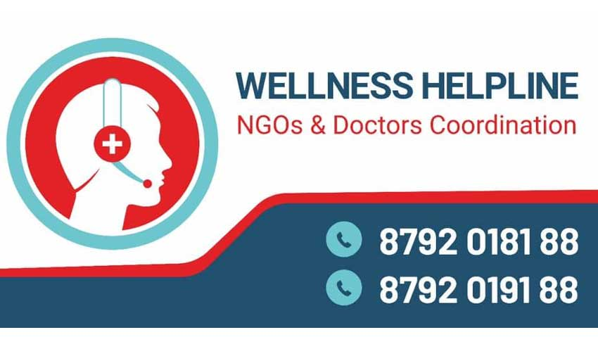 Wellness Helpline – NGOs & Doctors Coordination