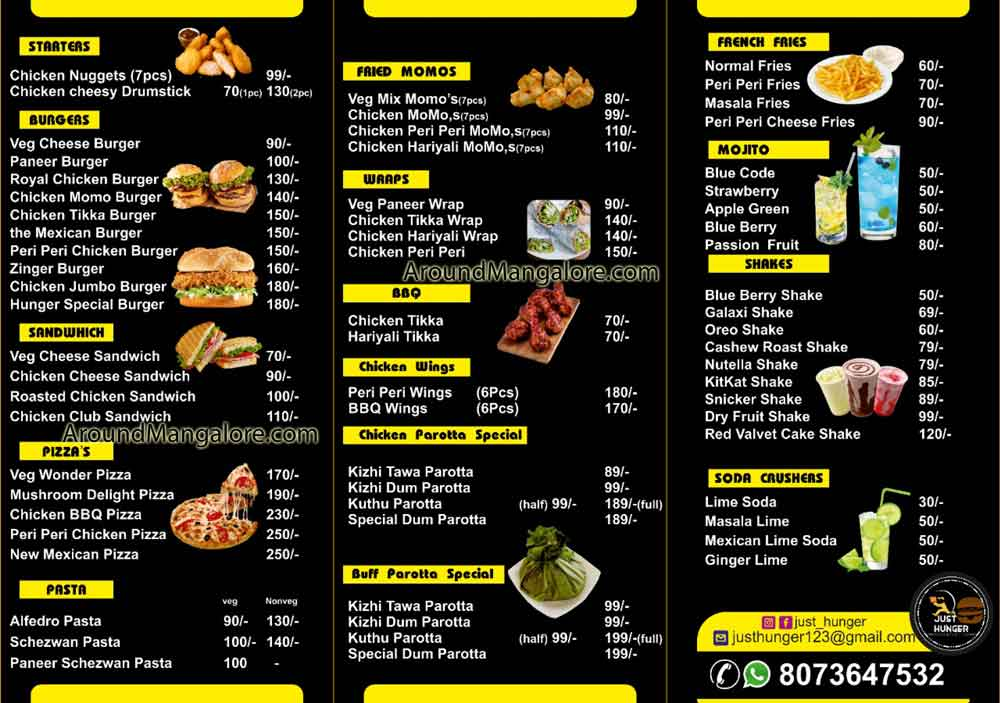 Just Hunger Cloud Kitchen in Mangalore - Just Hunger - Cloud Kitchen in Mangalore