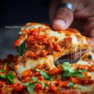 Peri Peri Chicken Pizza - Just Hunger - Cloud Kitchen in Mangalore