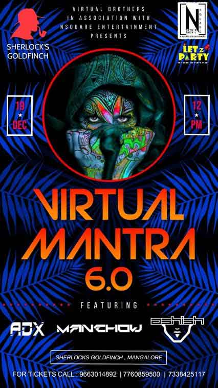 VIRTUAL MANTRA 6.0 - 19-Dec-2020 - Sherlocks, Goldfinch Hotel, Mangalore