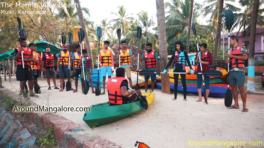 The Marine View Beach Kayaking – Kayakboyz – Mulki, Karnataka