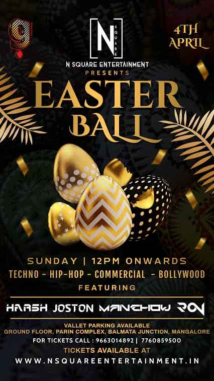 Easter Ball - 4 Apr 2020 - G Food & Fun, Balmatta, Mangalore