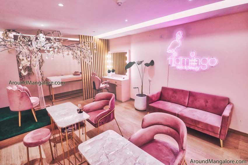 Flamingo Nails and Beauty - Salon - Balmatta, Mangalore