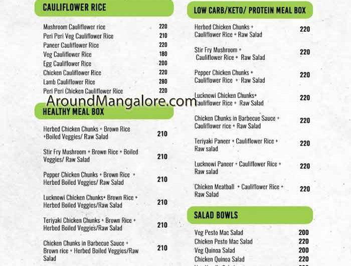 Calorie Conscious – Cloud Kitchen in Mangalore
