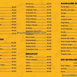 Food Menu - Insta Basket - Chaats and More - Ballalbagh, Mangalore