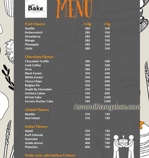 The Bake – Home Baker – Surathkal, Mangalore