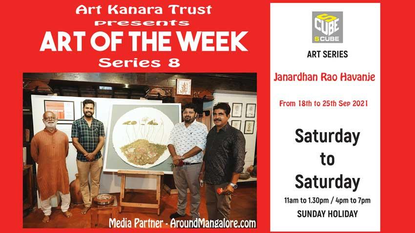Art of the Week (Series 8) - Old roots new shoots series - by Janardhan Rao Havanje - Sep21