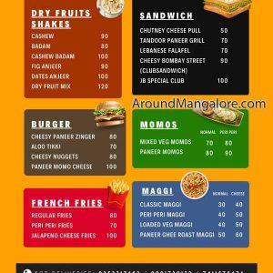 Food Menu - Juice Box - Falnir, Mangalore